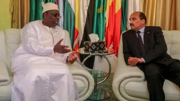 Sénégal-Mauritanie: Macky Sall et Mohamed Ould Abdel  Aziz se parlent au téléphone