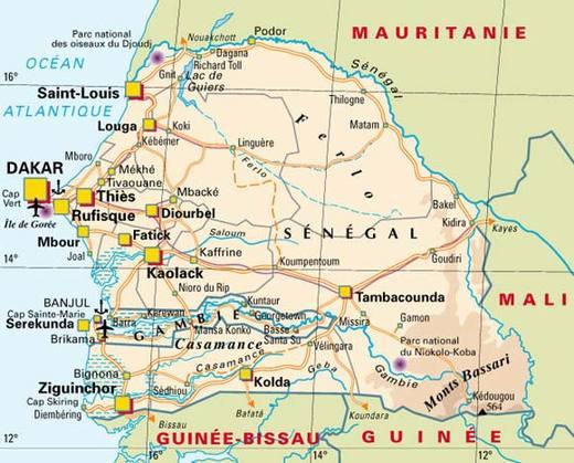 Les grande dates du Sénégal (XIe siècle-2010)