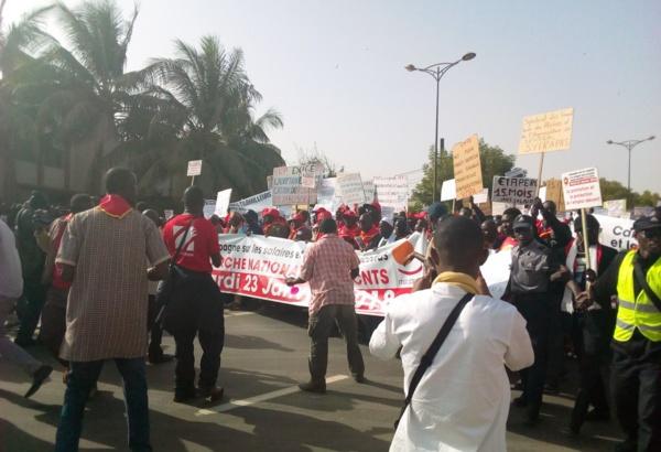 Marche des centrales syndicales: Le pari de la mobilisation réussi
