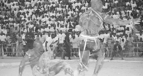 LUTTE-1e EDITION DU DRAPEAU GASTON MBENGUE :  Gui enfonce Zarco