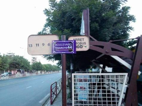 Cadeau d'arrivée à Macron : Le boulevard du Général De Gaulle rebaptisé Thiaroye44