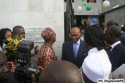 Inauguration du siège de WalFadjri, hier : Wade affiche sa panoplie de séducteur