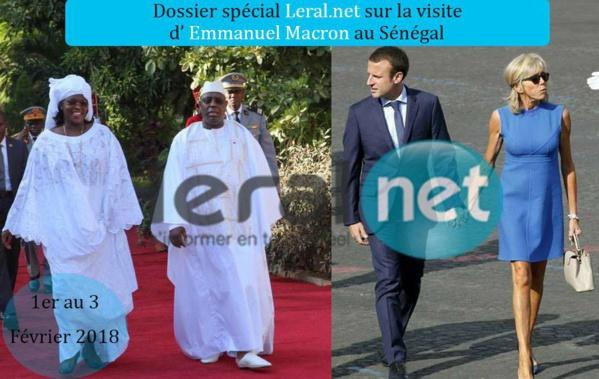 Visite de Emmanuel Macron au Sénégal : Leral.net marque l'événement avec un dossier spécial