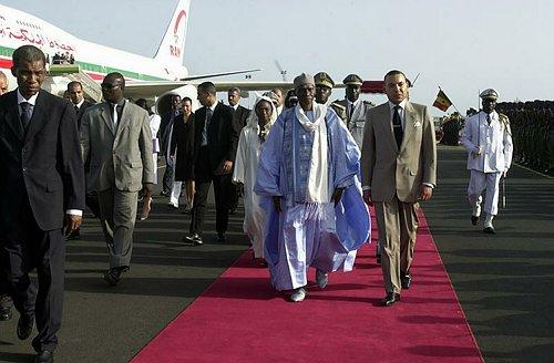 Message de S.M. le Roi Mohammed VI au Président sénégalais Abdoulaye Wade