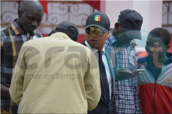 Visite des présidents Macron et Sall à Saint-Louis: Elh. Ousseynou Diouf présent à la place Faidherbe