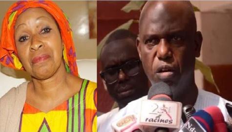 """Accueil de Macron à Saint-Louis : """"Humiliée"""" à l'aéroport, Awa Ndiaye accuse Mansour Faye qui se défend"""