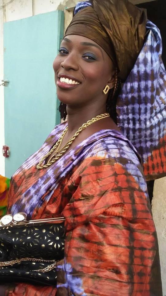 24 photos: Rouba Sèye, la black diongoma s'est mariée avec Monsieur...