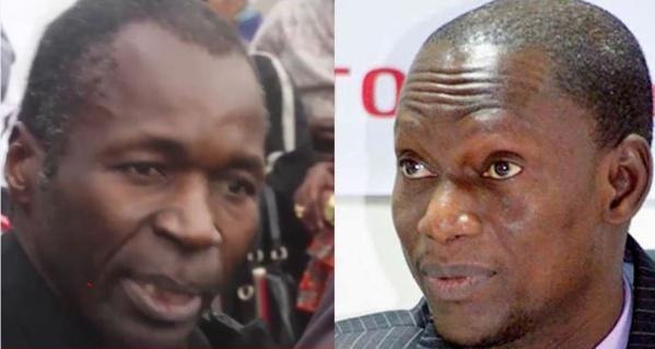 De gauche à droite: Me Ousseynou Fall et le juge Malick Lamotte