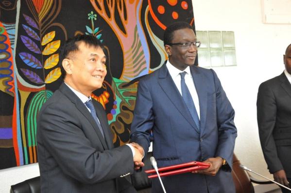 La Chine a octroyé 87.000.000.000 de francs CFA pour financer le projet « Smart Sénégal »