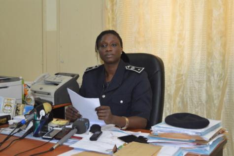 Commissaire Tabara Ndiaye, chef du bureau des relations publiques de la police