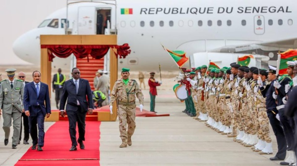 Communiqué conjoint des Présidences de la République du Sénégal et de la République Islamique de Mauritanie