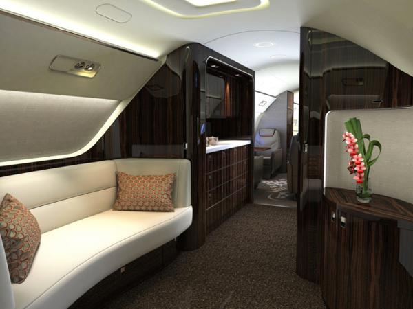 Photos - Visite de l'intérieur d'un jet privé à 53 millions de dollars US !