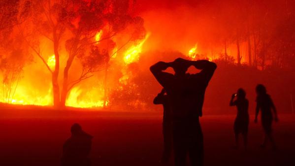 URGENT : Un violent incendie à Yarakh-Capa, les sapeurs-pompiers aux abonnés absents
