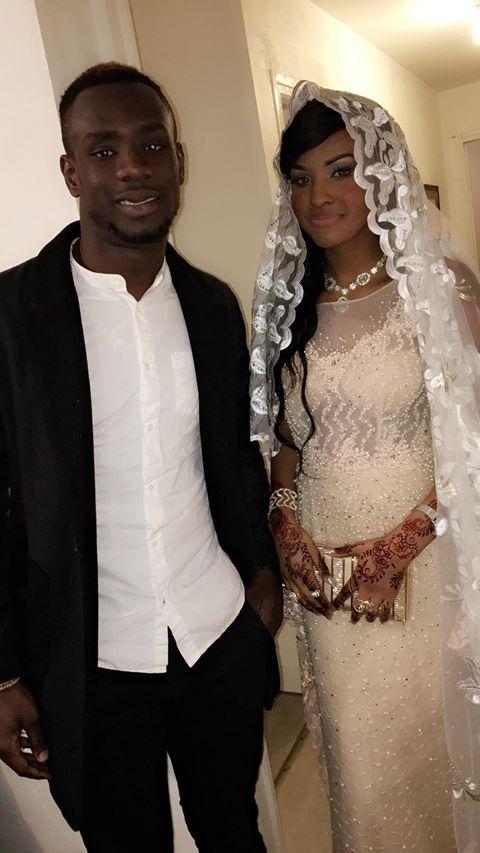Les images du mariage de l'international sénégalais Moussa Wagué et Oumy Ndiaye Ly
