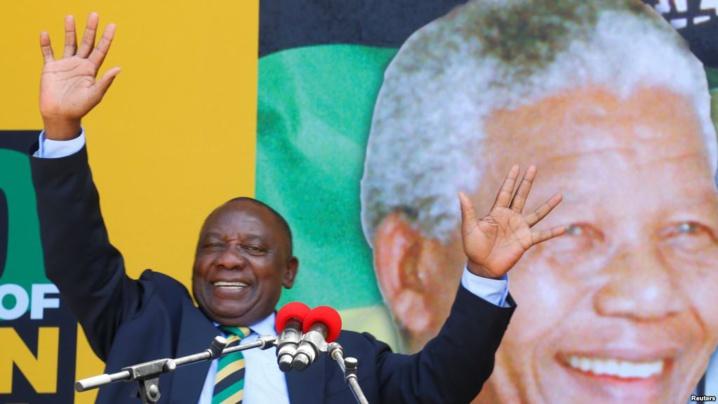 Cyril Ramaphosa, nouveau président de l'Afrique du Sud