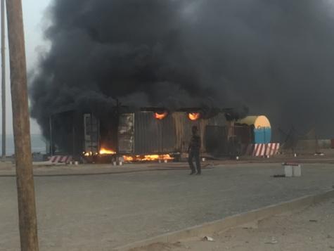 Mboro: Un mort dans l'explosion d'une station d'essence clandestine
