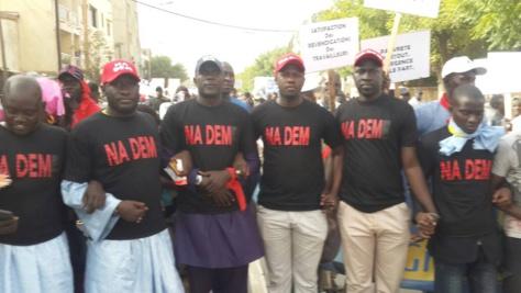 """Après le Pds et le FPDR, """"Nadem"""" exige la démission d'Aly Ngouille Ndiaye"""