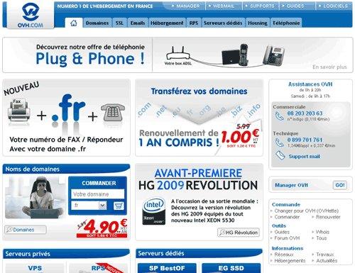 Hébergement Web - OVH ouvre sa filiale au Sénégal