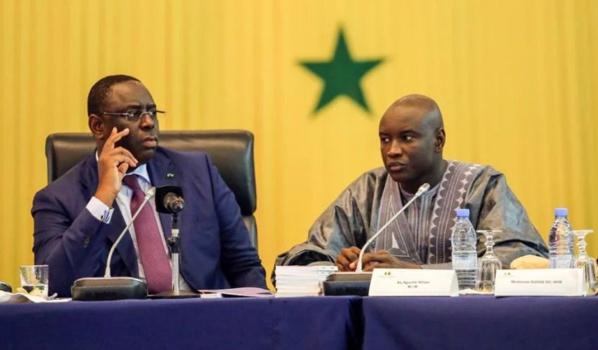 Macky Sall félicite Aly Ngouille Ndiaye