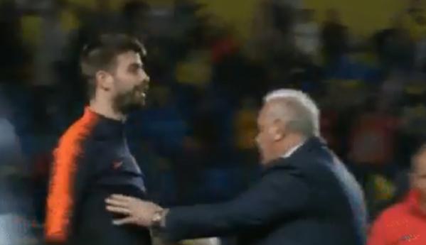 """""""Penalty invisible"""", Piqué furieux… le Barça sous tension après son nul à Las Palmas"""