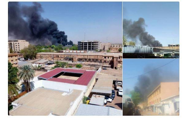 Urgent - La Primature, l'ambassade de France, le tribunal militaire et  le camp Guillaume seraient attaqués au Burkina Faso