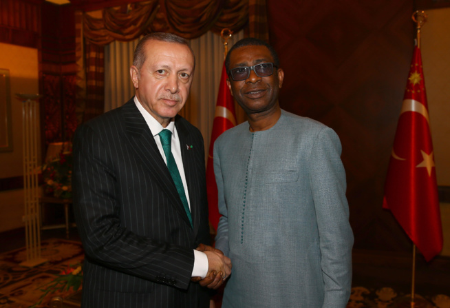 Vidéo + Photos : Youssou Ndour présente son fils Birane Ndour au Président turc