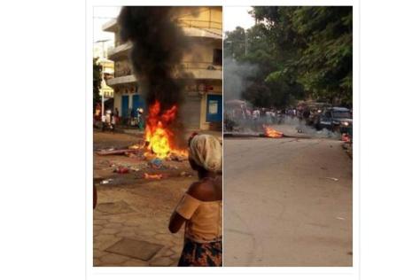 Conakry paralysée par des heurts sociaux et politiques