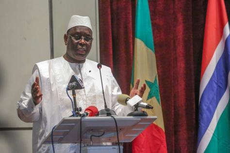 Discours du Président  Macky Sall à la Première session du Conseil présidentiel sénégalo-gambien, le 13 Mars 2018 à Banjul