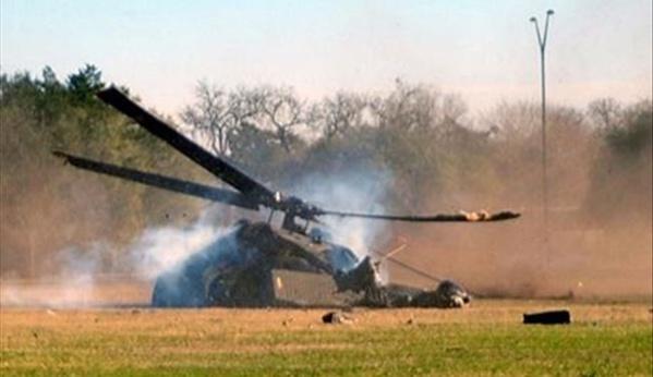 Crash d'un hélicoptère de l'armée:  20 personnes dont 4 membres de l'équipage étaient  à bord