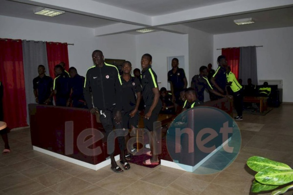 Photos: Youssou Ndour galvanise Génération Foot à Deni Biram Ndao...avant le match contre Horoya AC