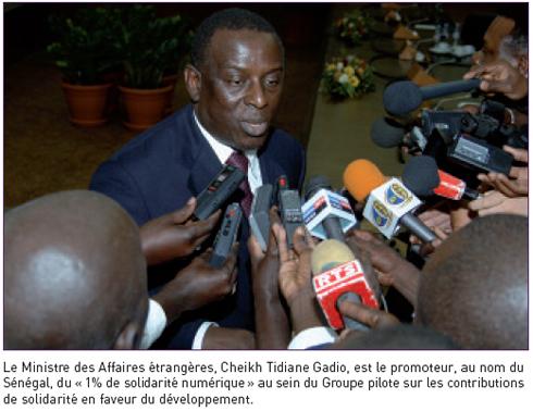Bienvenue sur terre, Cheikh Tidiane Gadio !