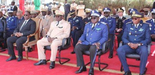 Crash de l'hélicoptère de l'armée: le Président Sall à la levée de corps des membres de l'équipage
