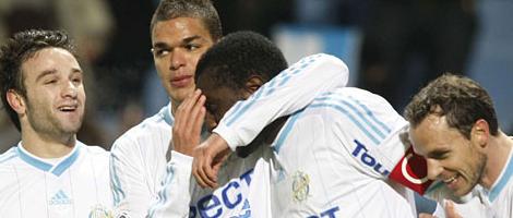 Mamadou Niang a inscrit son 18ème but de la saison face à Grenoble ce samedi. Il termine meilleur buteur de Ligue 1