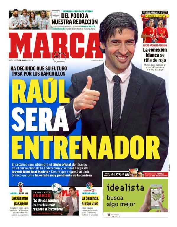 Raul sera entraîneur