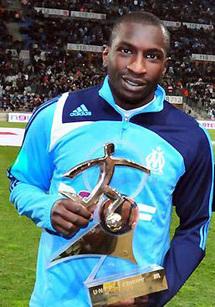 Champion de France, vainqueur de la coupe de la ligue et meilleur buteur, avec 18 buts : 2010, l'année de gloire de Mamadou Niang