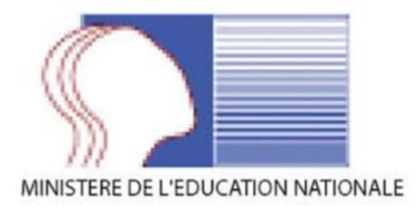 COMMUNIQUE DE PRESSE DU MINISTERE DE L'EDUCATION NATIONALE
