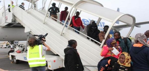 Sénégal: 102 migrants rapatriés volontairement de la Libye
