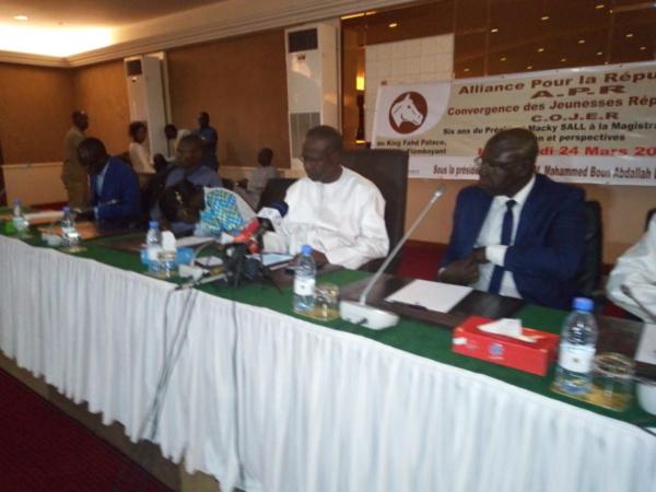 Célébration des 6 ans de Macky Sall au pouvoir: Les responsables de l'Apr font le procès d'Idrissa Seck