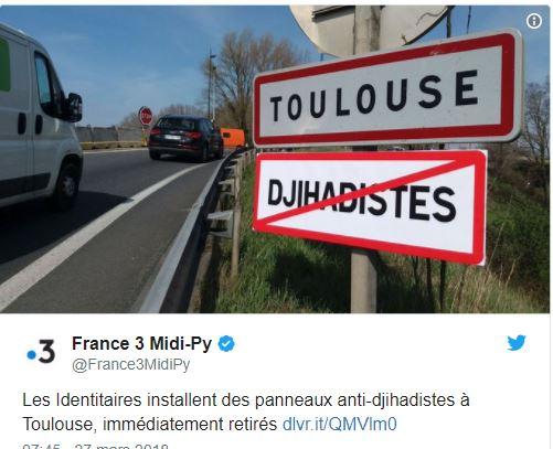 Toulouse : des panneaux