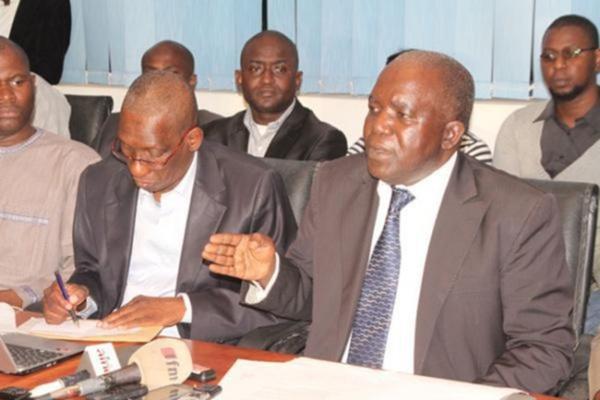 CD PDS : Clash entre Oumar Sarr et Babacar Gaye