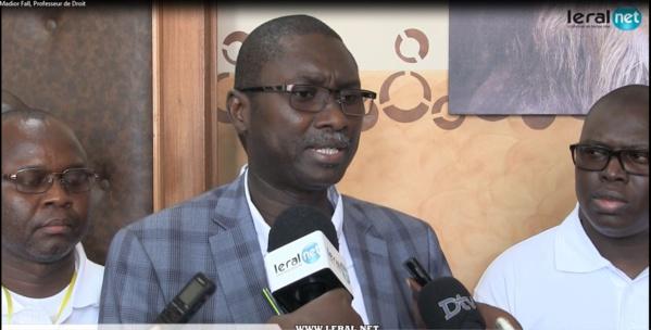 Ismaila Madior Fall sur la loi sur le parrainage, un retrait n'est pas envisagé