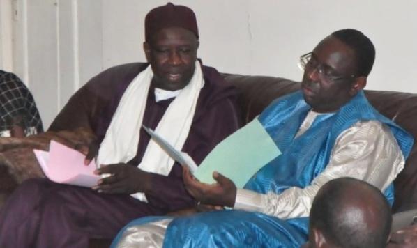 Serigne Mansour Sy Jamil et Macky Sall