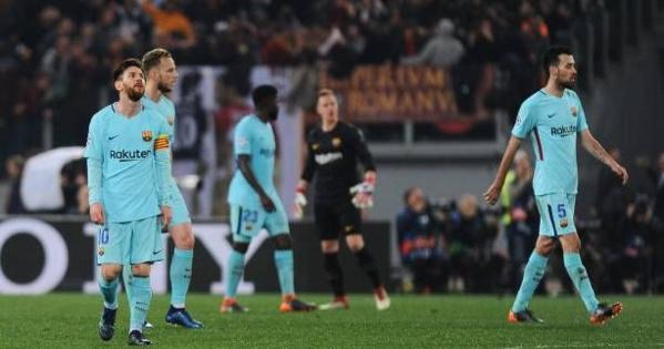 Plus qu'un séisme : Le Barça tombe de loin, la Roma passe en demi-finale