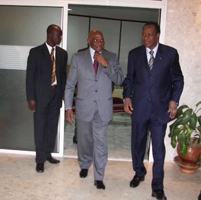 Médiation dans la crise ivoirienne : Wade suspecté de vouloir écarter Compaoré