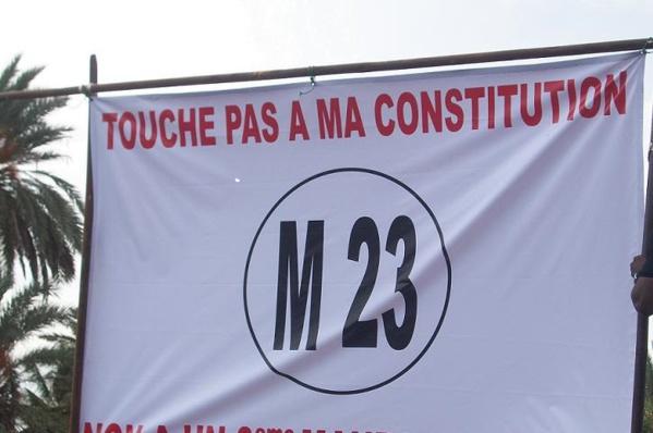 Parrainage : Le M23 vote la loi et tire à boulets rouges sur l'opposition
