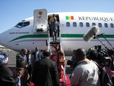 Achat d'avion : le président Wade ne renonce pas à son aéronef