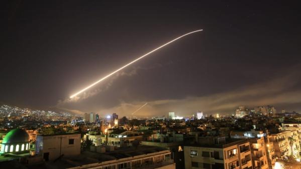 Les Etats Unis déclenchent une opération militaire en Syrie avec la France et le Royaume-Uni