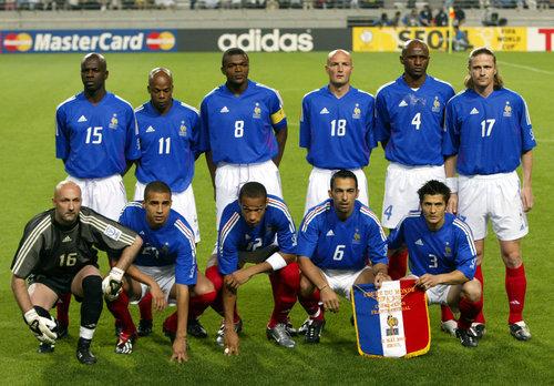 Vid o r tro france s n gal 2002 0 1 - Johnny hallyday coupe du monde 2002 ...