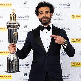 Premier League: Mohamed Salah sacré meilleur joueur de la saison 2017-2018