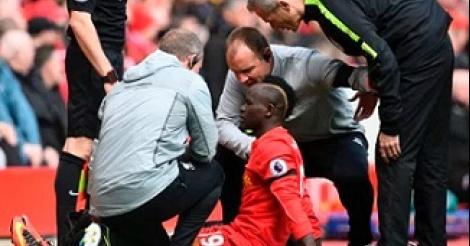 Sadio Mané blessé, Liverpool s'inquiète